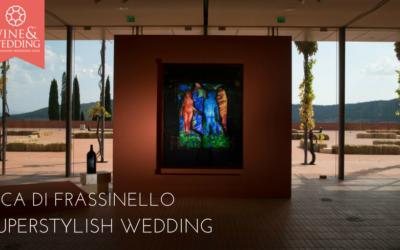Rocca di frassinello – a superstylish wedding