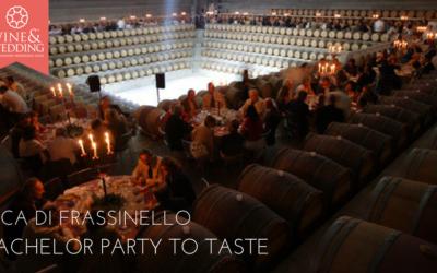 Rocca di Frassinello, toscana – A bachelor party to taste