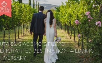 Tenuta SS. Giacomo e Filippo – An Enchanted Destination Wedding Anniversary
