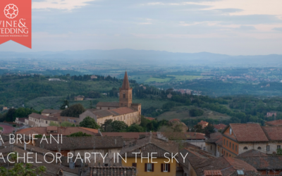 Sina Brufani – A bachelor party in the sky