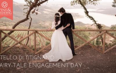 Castello di Titignano – A fairy-tale engagement day