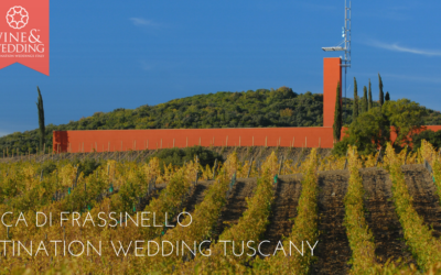 Rocca di Frassinello – Destination wedding tuscany, a day suspended between history and contemporary design