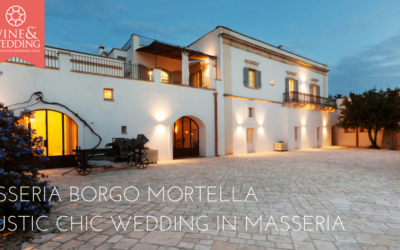 Masseria Borgo Mortella – A rustic chic wedding in Masseria