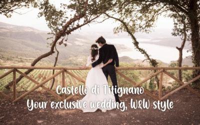 Castello di Titignano: your exclusive wedding, Wine & Wedding style