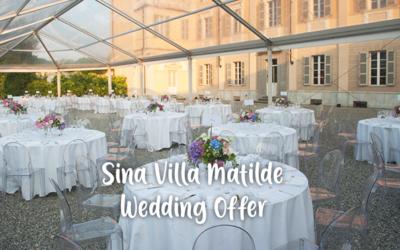 Sina Villa Matilde (Piemonte) – Special Wedding Offer