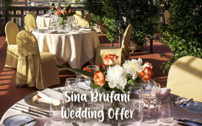 Sina Brufani (Umbria) – Special Wedding Offer