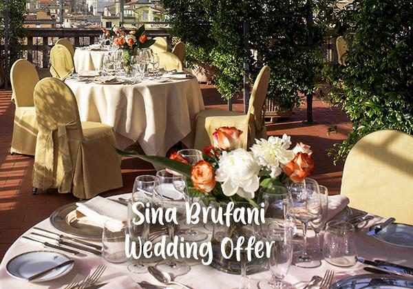 Sina Brufani (Umbria) – Special Wedding Offer
